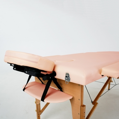 Массажный стол RelaxLine Lagune(FMA201A-1.2.3) светло-розовый.
