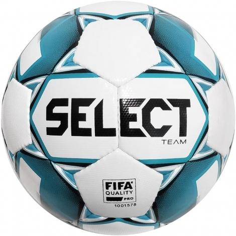 Мяч футбольный Select  Team FIFA (015) бел/син,размер 5