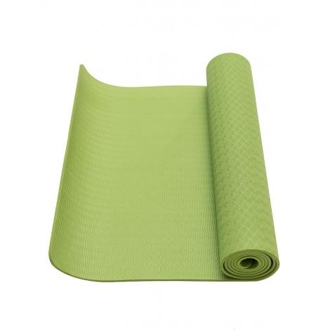 Коврик для фитнеса Ecofit MD9012 однослойный TPE 1830*610*6мм зелёный