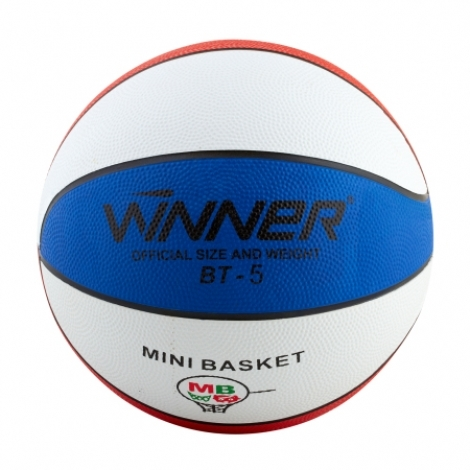 Баскетбольный мяч Winner TRICOLOR №5(оригинал)