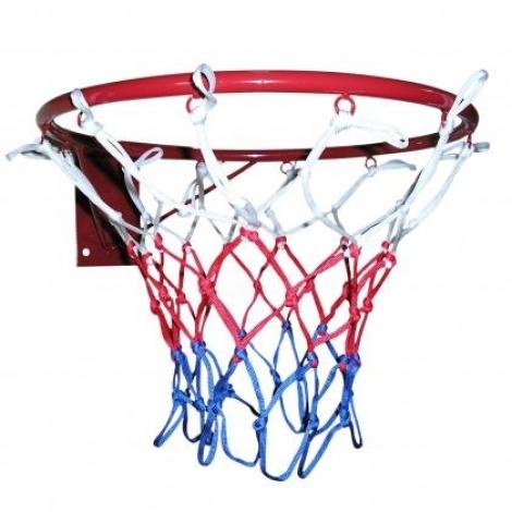 Кольцо баскетбольное усиленное Newt 450 мм сетка в комплекте