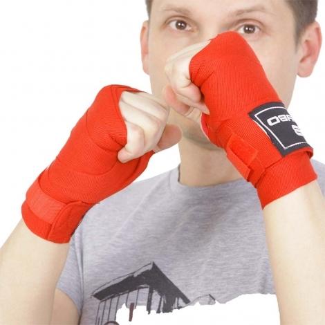 Боксерский бинт BoyBo 2,5 м красный 2шт GN-2325