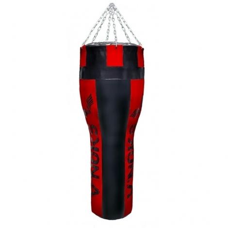 Боксерский мешок конусный V`Noks Gel Red 1.2м, 45-55кг