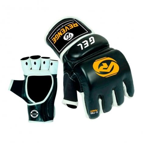 Перчатки MMA Revenge EV-18-1807 черно-бело-желтые