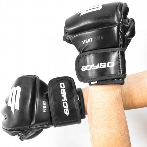 Перчатки ММА BoyBo Challenger Flex черные M SF12-75-3