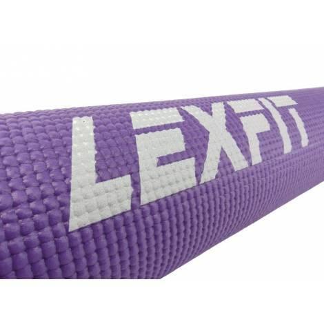 Коврик для фитнеса (коврик для йоги, мат) LEXFIT 0,5см LKEM-3010-0,5