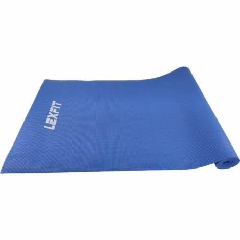 Коврик для фитнеса (коврик для йоги, мат) LEXFIT 0,6см LKEM-3010-0,6