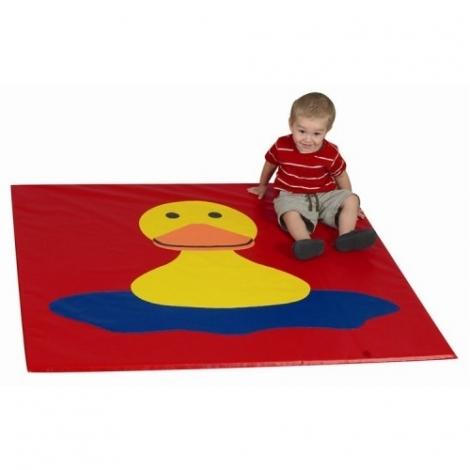 Детский мат-коврик для развития Уточка