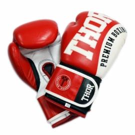 Перчатки боксерские THOR SHARK красные