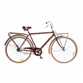 """Велосипед 28"""" Dorozhnik COMFORT MALE 14G Velosteel St с багажником."""