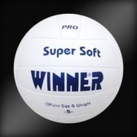Мяч волейбольный WINNER Super Soft VC-5 (white)