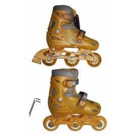 Роликовые коньки KEPAI SS-CHIN-STAR-9 р.30-33 желтые