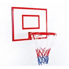 Щит баскетбольный детский Newt Jordan с кольцом и сеткой 600х450 мм