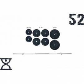 Штанга RN-Sport 52 кг с хромированным грифом