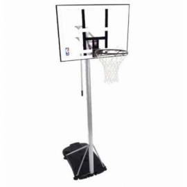 """Баскетбольная стойка Spalding Silver 44"""" Rectangle Acrylic"""