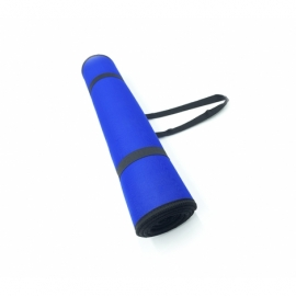 Коврик для фитнеса (йога-мат) со стяжками Newt EVA Carry 6 мм синий NE-75-10-B