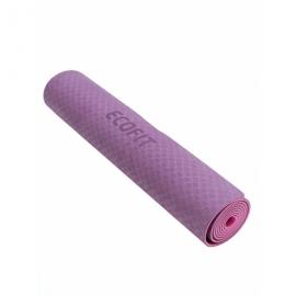 Коврик для фитнеса Ecofit MD9012 двухслойный TPE 1830*610*6 мм пурпурно-фиолетовый