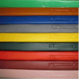Мат гимнастический 120*100*10 см.(цветной)
