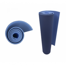 Коврик для фитнеса (йога-мат) с чехлом Newt TPE Eco 6 мм сине-голубой NE-5-38-80-BB