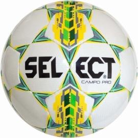 Мяч футбольный Select Campo Pro (320) бел/желт размер 3