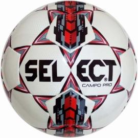 Мяч футбольный Select Campo Pro (320) бел/красн. размер 4
