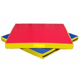 Мат гимнастический (спортивный) 120-100-8 см.