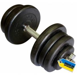 Гантели наборные стальные 2 шт.по 25,5 кг.