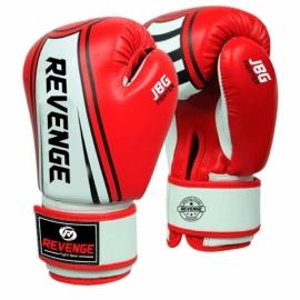Детские боксерские перчатки Revenge PU EV-10-1223 красно-белые
