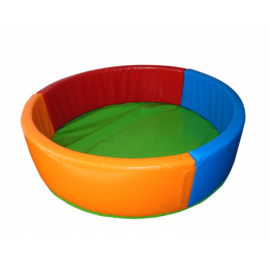 Сухой бассейн KIDIGO Круг 0,9 ПВХ, вторичный поролон