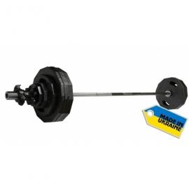 Штанга наборная олимпийская Newt  120 кг. Гриф 2,2 м.