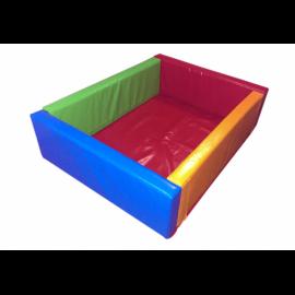 Сухой бассейн KIDIGO Квадрат 1,1 ПВХ, вторичный поролон