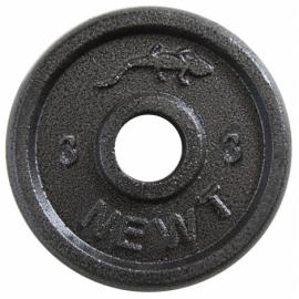 Диск стальной Newt Home 3 кг.,диаметр-30 мм.