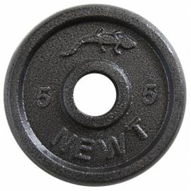 Диск стальной Newt Home 5 кг.,диаметр-30 мм.