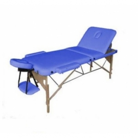 Массажный стол Relax HY-30110-1.2.3 синий