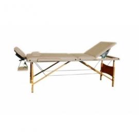Массажный стол Relax HY-30110-1.2.3 (бежевый)