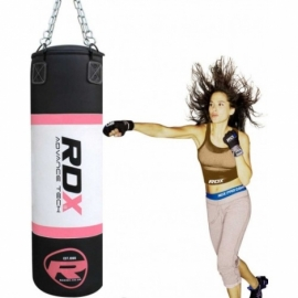 Боксерская груша RDX Pink 1.2 м,