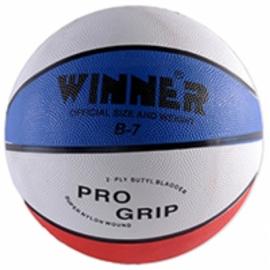 Баскетбольный мяч Winner TRICOLOR №7(оригинал)