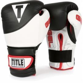 Тренировочные перчатки TITLE GEL Suspense Training Gloves (GSTGE, черно-белые)