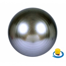 Мяч для фитнеса (фитбол) 65 см Newt HMS серый 487-626-1-G
