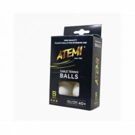 Мячики для настольного тенниса Atemi 3 * 6 шт