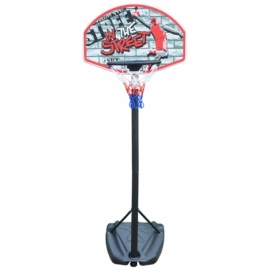 Детская баскетбольная стойка SBA S881R 66x46 см