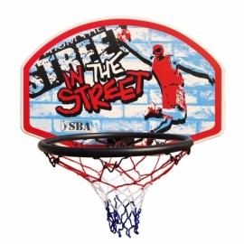 Детский баскетбольный щит SBA S881RB 66x46 см