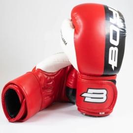 Боксерские перчатки BoyBo Speed Arm 10 OZ (иск.кожа) красн. SF4-43-10