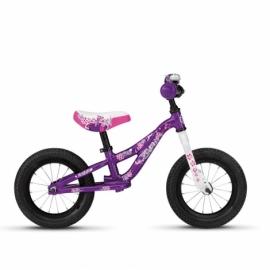 "Беговел Ghost Powerkiddy 12"" фиолетово-бело-розовый 2020"