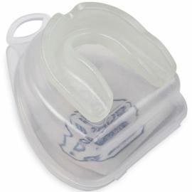 Одночелюстная капа для бокса Boybo Basic (силикон) SV-101-2 белая