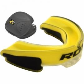 Капа боксерская RDX GEL 3D Elite Yellow Junior