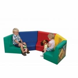 Модульный диван 64-46-46 см.