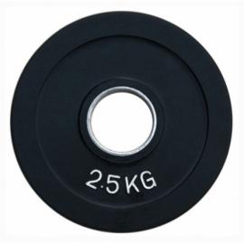 Диск олимпийский обрезиненный Fitnessport RCP18-2,5 кг.