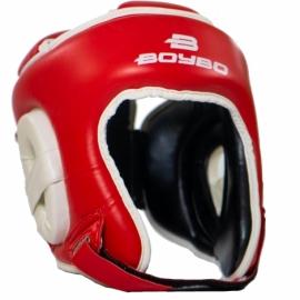 Боксерский тренировочный шлем BoyBo серия Universal Nylex красный SW3-73