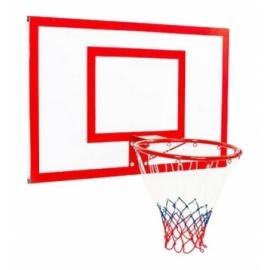 Щит баскетбольный металлический Newt Jordan с кольцом и сеткой 1000х670 мм